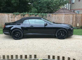 Bentley CONTINENTAL SUPERSPORTS A, 2010 (60) Black Convertible, Manual Petrol, 33,000 miles
