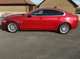 Jaguar XE, 2015 (65) Red Saloon, Manual Diesel, 84,000 miles