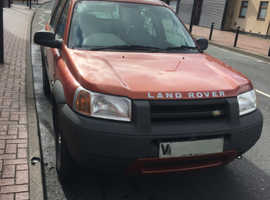 Land Rover Freelander, 2000 (V) Orange Estate, Manual Diesel, 178,989 miles