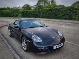 Porsche Cayman, 2008 (57) Black Coupe, Manual Petrol, 130,000 miles