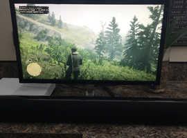 Xbox one s + 4K monitor