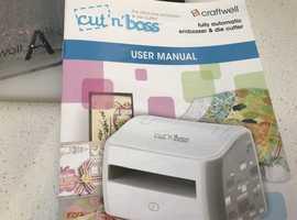 CUT and BOSS die cutting machine bundle