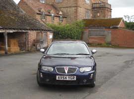 Rover 75, 2004 (54) Blue Saloon, Manual Diesel, 101,098 miles