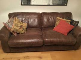 Free beautiful leather sofa