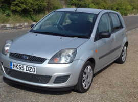 Ford Fiesta, 2005 (55) Silver Hatchback, Manual Petrol, 106,516 miles
