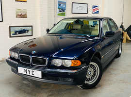 1999 BMW E38 740I - ORIENT BLUE METALLIC, 64K MILES, STUNNING THROUGHOUT