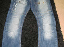 rawcraft mens designer jeans