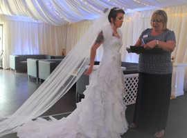 Wedding dress 8-10