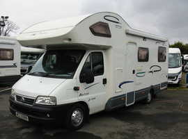 Spacious 6 Berth Motorhome with 4 belts