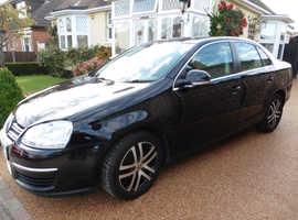 Volkswagen Jetta, 2007 (07) Black Saloon, Manual Diesel, 88,013miles