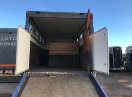 Horsebox 7.5tonne (68,000 miles)