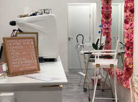 Rent a bed in beautiful beauty boutique