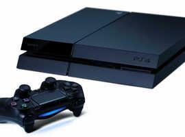 Playstation 4 Black Slim 500GB