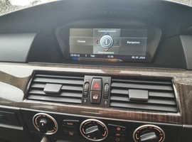 BMW 5 Series, 2005 (55) Black Saloon, Manual Diesel, 179,836 miles