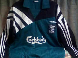 """""""The Spice Boys"""" Liverpool fc 1995-96 Training Top"""