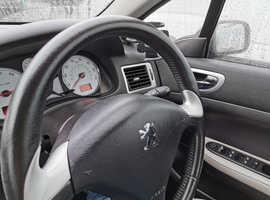 Peugeot 307, 2006 (06) Black Coupe, Manual Petrol, 91,000 miles