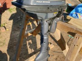 Yamaha outboard 4hp 4 stroke long shaft