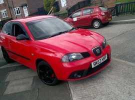 Seat Ibiza, 2003 (53) Red Hatchback, Manual Petrol, 133,554 miles