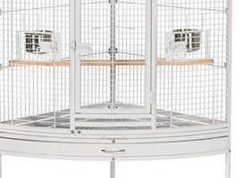 Light grey corner cage