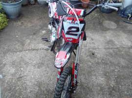 Kmxr 140 race ready pit bike,swap for quad or bigger bike.