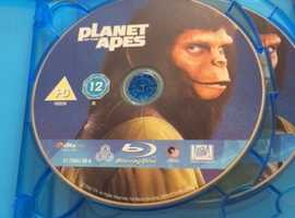 Planet Of The Apes 5 Movie Collector's Edition Blu Ray Set