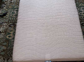 Covered Memory Foam mattress, 1900x750x 30 mm.  Ideal for Motorhome or Caravan bench seat bed.