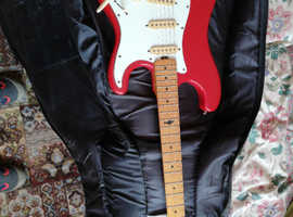 A MARLIN GUITAR Stratocaster and case