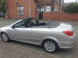 Vauxhall Astra, 2007 (07) Silver Convertible, Manual Petrol, 162,698 miles