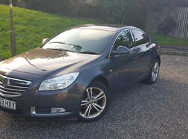 Vauxhall Insignia, 2013 (63) Grey Hatchback, Manual Diesel, 99,000 miles