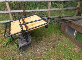 Black Pony Cart