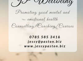 JP Wellbeing, Support for your emotional and mental health wellbeing