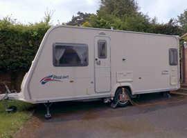 2007 Bailey Pageant Bordeaux 4 berth caravan