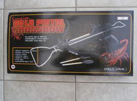 80lbs draw weight pistol crossbow
