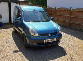 Renault Kangoo, 2005 (55) blue mpv, Manual Diesel, 111,246 miles