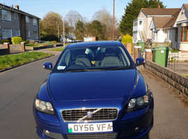 Volvo S40/V50 SERIES, 2006 (56) Blue Saloon, Manual Diesel, 90,000 miles