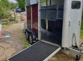 2007 ifor William's hb505 horse trailer