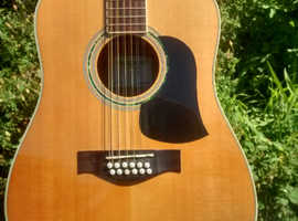 Aria 12 string acoustic guitar