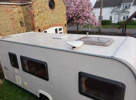 Bailey Pageant Champagne 2008 S6  4 Berth Fully Fitted Motor Mover