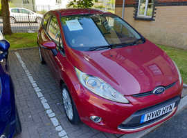 Ford Fiesta, 2010 (10) Red Hatchback, Manual Petrol, 79,700 miles