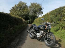 AJS Cadwell 125cc motorbike