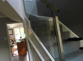 Shower screens,Splashbacks, Glass Balustrades, Secondary glazing, Mirrors design and fitting