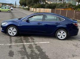 Mazda MAZDA 6, 2009 (59) Blue Hatchback, Manual Diesel, 137,000 miles