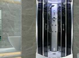 Insignia Steam Shower Cabin Enclosure Cubicle 800x800 mm Quadrant 2nd Generation