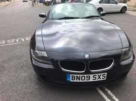 BMW Z SERIES, 2009 (09) Black Convertible, Manual Petrol, 74,200 miles