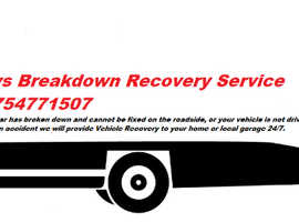 Breakdown Service Car Towing Services in Northolt