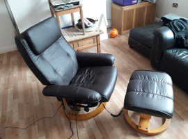 massage chair and stool reduiced