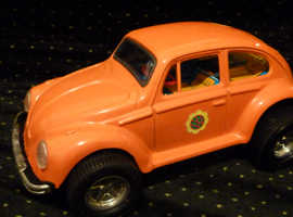 "volkswagen ""hippy beetle"" bug. circa 1970's. excellent condition in original carton."