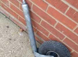 pneumatic tyre jockey wheel