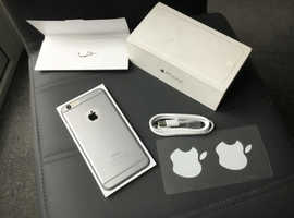 IPhone 6 Plus**Superb Condition**In Silver*Networkis 02 and Giff Gaff £125!