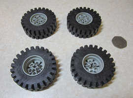 Vintage Lego Technic Very Large Wheels